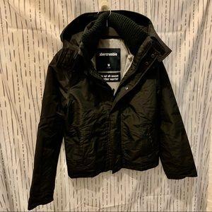 Abercrombie & Fitch All Season Black Jacket, Boys